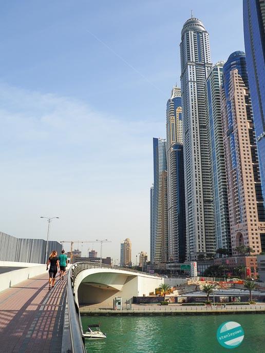 fotografowanie w podróży - Dubai Marina