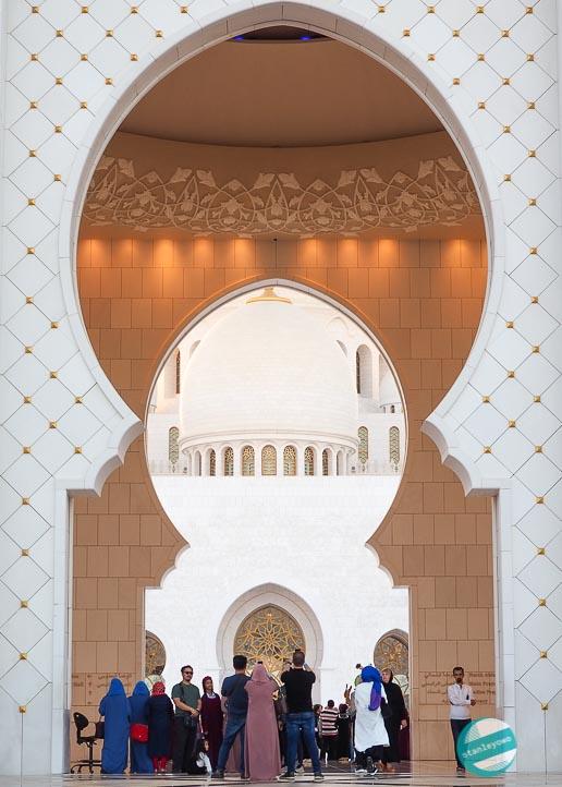 fotografowanie w podróży - meczet szejka Zayeda