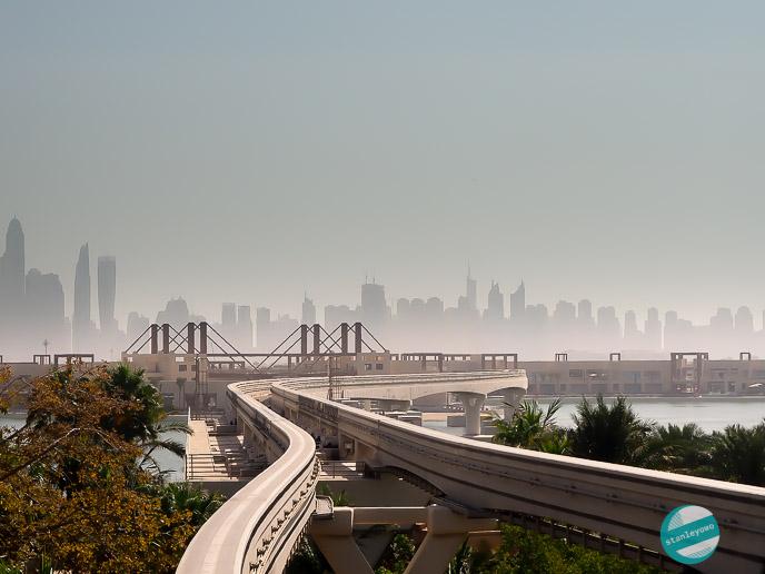 fotografowanie w podróży - Dubai - Palm Jumeirah