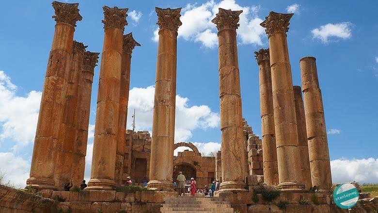 Dżarasz w Jordanii