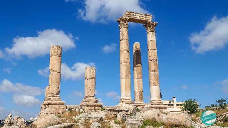 Świątynia Herkulesa - Amman