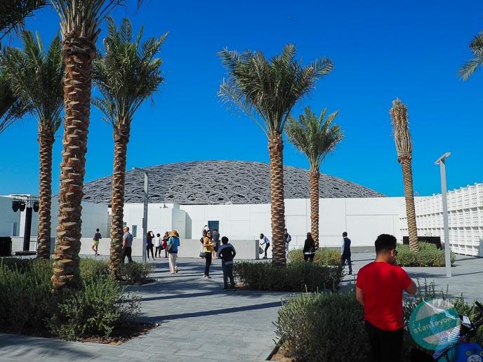 Fotorelacja z Abu Dhabi - Louvre
