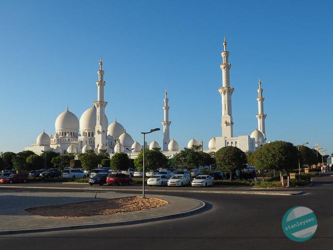 Fotorelacja z Abu Dhabi - Meczet Szejka Zayeda