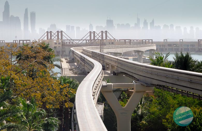 Linia kolejowa Palm Jumeirah