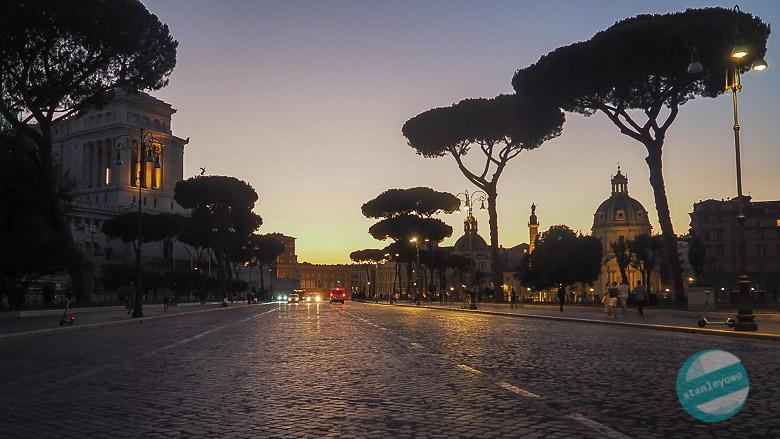 Zwiedzanie Rzymu COVID-19