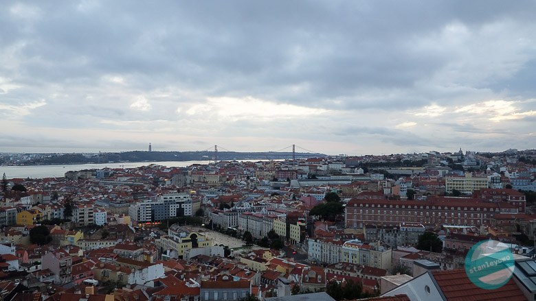 Lizbona punkt widokowy