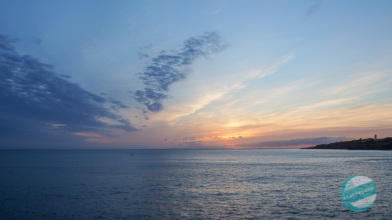 Zachód słońca w Cascais