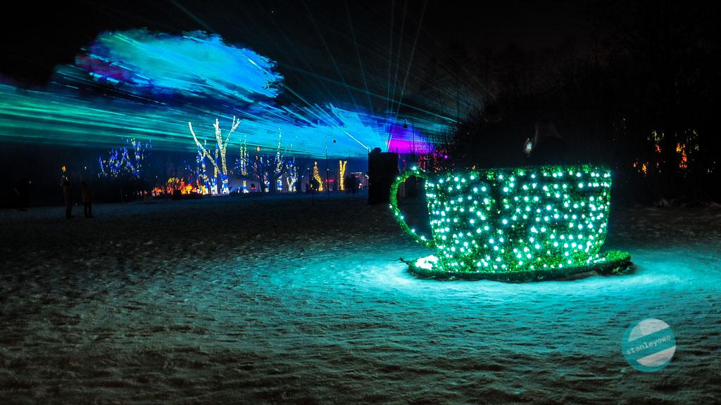 Ogród Świateł Kraków - Alicja w Krainie Czarów